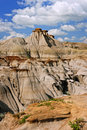 Badlands in Alberta, Canada Royalty Free Stock Images