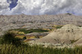 Badlands national park south dakota Stock Photography