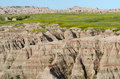 Badlands National Park, South Dakota, USA Royalty Free Stock Photo