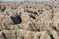 Badlands National Park, South Dakota, USA Royalty Free Stock Photo