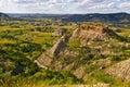 The Badlands of North Dakota Royalty Free Stock Photo