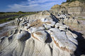 Badlands in Theodore Roosevelt NP Royalty Free Stock Photos