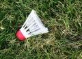 Badminton-Piepmatz Lizenzfreie Stockfotos