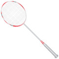 Badminton racket sports equipment for game racquet vector illustration Royalty Free Stock Photography
