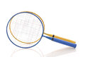 Badminton Rackets Royalty Free Stock Images