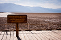 Badwater Basin Royalty Free Stock Image