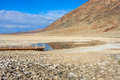 Badwater Basin, Death Valley National Park, California Stock Images