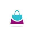 Bag beauty smile fashion logo