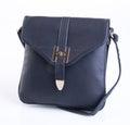 bag or black colour female bag on a background.