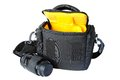 Bag for the camera and a lens Royalty Free Stock Photography