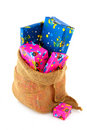 Bag from Dutch Sinterklaas Royalty Free Stock Photos