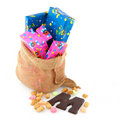 Bag from Dutch Sinterklaas Stock Images