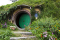 Bag end new zealand entrance to frodos home Stock Photo