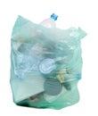 Bag full of garbage Royalty Free Stock Photo