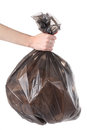 Bag of garbage Royalty Free Stock Photo