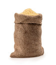 Bag   millet Royalty Free Stock Photo