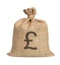 Bag from Pound. Stock Image