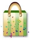Bag shopping Стоковое Изображение