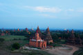 Bagan archaeological zone myanmar Stock Afbeelding