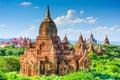 Bagan, Myanmar Archeological Zone Royalty Free Stock Photo