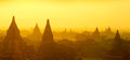Bagan panorama sunrise Stock Image