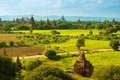 Bagan temples Royalty Free Stock Photography