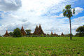 Bagan temples in nyaung u in mandalay province myanmar Royalty Free Stock Photography