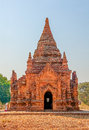 Bagan temples in old myanmar Stock Image