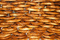 Bagels simit turkish Fotografia Royalty Free