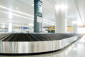 Baggage claim in shanghai in china Stock Photo