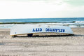 Bagnino rescue boat di atlantic city Fotografia Stock
