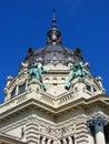 Bagno di Budapest-Szechenyi Fotografie Stock Libere da Diritti