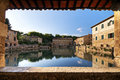 Bagno Vignoni - Tuscany Stock Photo