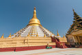 Bago myanmar february mahazedi pagoda the means the great stupa it is one of the revered pagodas in the was Royalty Free Stock Photos
