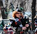 Bagpiper Royalty Free Stock Photos