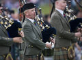 Bagpipes -  Highland Games - Scotland Stock Images