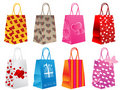 Bags olik shopping Royaltyfri Foto