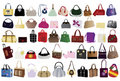 Bags for woman Stock Images