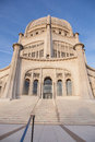 Bahá í house of worship temple in wilmette illinois is the oldest surviving in the world Stock Images