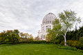 The bahá í house of worship for north america quiet serenity baha i Stock Photo