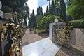Baha i gardens in haifa israel Stock Photos