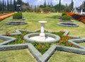Bahai garden in israel Stock Photo