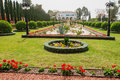 Bahai gardens acre the in israel Stock Photography