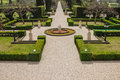 Bahai gardens acre the in israel Royalty Free Stock Photo