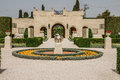 Bahai gardens acre the in israel Royalty Free Stock Photos