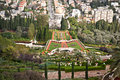 Bahai gardens, Haifa, Israel. Royalty Free Stock Photography