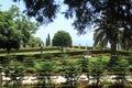 Bahai Gardens in Haifa on Mount Carmel Royalty Free Stock Photo