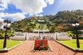 Bahai gardens and temple on the slopes of the Carmel Mountain, Haifa Royalty Free Stock Photo