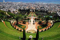 The Bahai Shrines in Haifa Royalty Free Stock Image