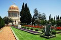 The Bahai Shrines in Haifa Stock Image